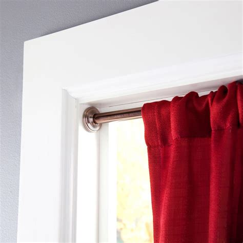 Eclipse Room Darkening Curtain Rod by Eclipse 28 In 60 In Telescoping 5 8 In Room Darkening