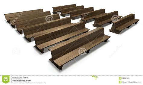 banchi chiesa banchi di chiesa di legno della chiesa illustrazione di