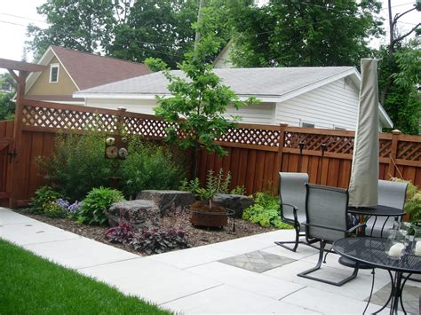 Patio With Adjacent Garden Seating  Field Outdoor Spaces