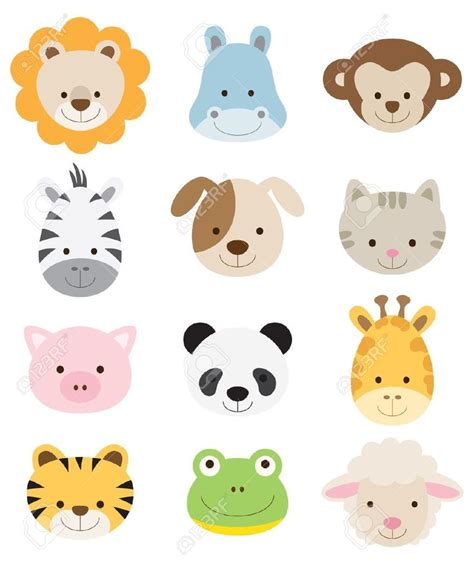 animales bebes para baby shower en porcelana buscar con selva