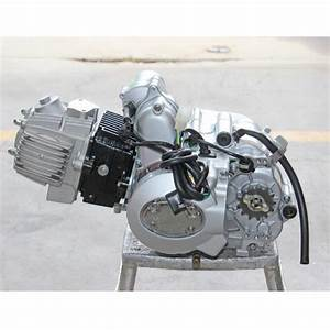 4 Stroke 110cc Semi Auto Engine Motor Upgrade For 70cc