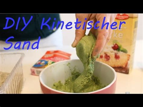 kinetic sand selber machen mit sand diy kinetic sand selber machen self made kinetic sand