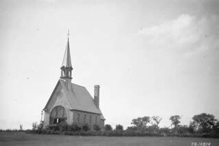 The memorial church to Acadians Grand Pré Nova Scotia 1