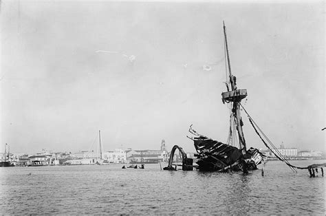uss maine 1898 sinking the uss maine after an explosion in february 1898 sank