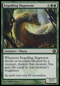 it s spelled wurm casual mtg deck