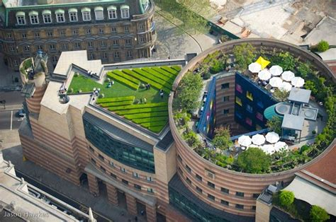 London Garden Fencing by Rooftop Garden In London Eco Architecture Pinterest
