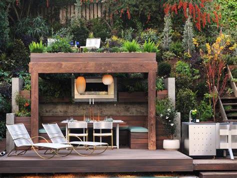 Small Outdoor Fireplace Ideas Hgtv