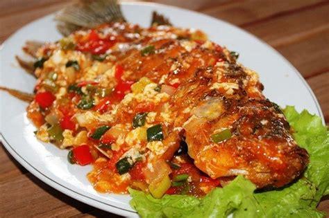 Selain digoreng ikan nila paling enak dibakar. Resep dan Cara Membuat Sajian Ikan Nila Bumbu Asam Manis ...
