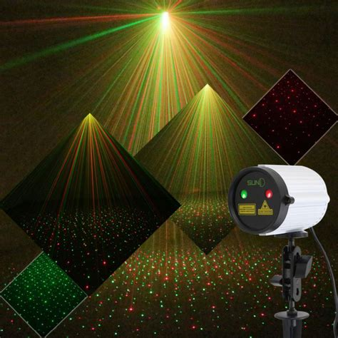 outdoor projection lights suny mini outdoor laser projector static pattern