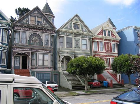 Amazing Sf Victorian Houses House Style Design