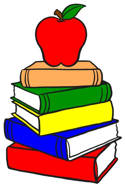 buku principal stack books clipart best clipart best