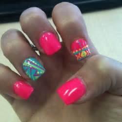 Think pink for spring nail art designs wehotflash
