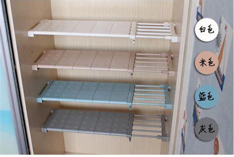 Bathroom Extendable Shelf by 57 90cm Extendable Cabinet Storage Rack Multipurpose