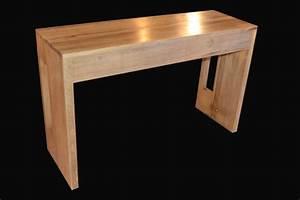 Console A Rallonge : fabrication d 39 une console extensible allonges int gr es meubles delor fabricant de meubles et ~ Teatrodelosmanantiales.com Idées de Décoration