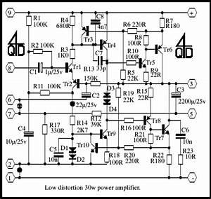 30 watt amplifier schematic electronic schematics With mono power amplifier a1015 bd140 tip2955 circuit diagram
