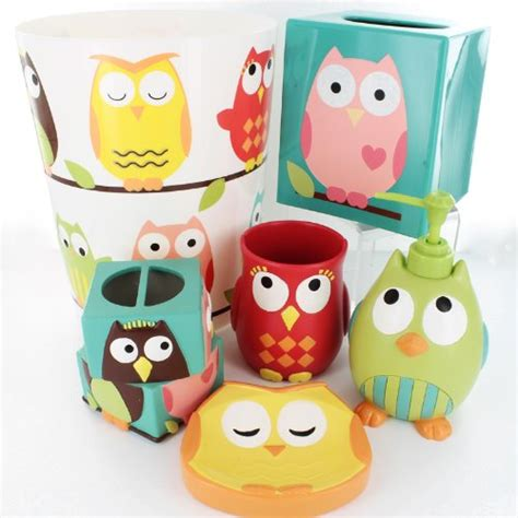 Owl Bath Set Target by 20 Charming Cool Bathroom Accessories That