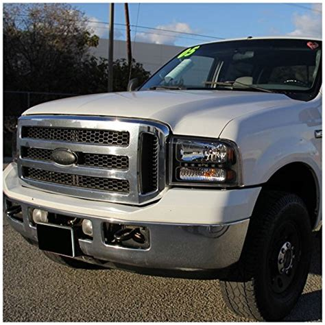 f350 f250 headlights ford 99 led hid crystal superduty excursion xenon piece
