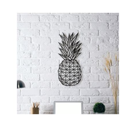 metal decoration pineapple artwall
