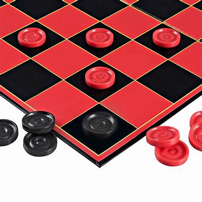 Checkers Board Games Classic Folding Point Super
