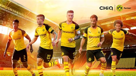 CHiQ Europe have signed on as a partner with Borussia ...