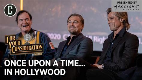 Leonardo DiCaprio, Brad Pitt, Quentin Tarantino & Crew ...