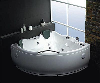Lineaaqua Godiva Semiround Corner 60 X 60 Jetted Bath Tub