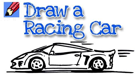 draw sports car real easy spoken tutorial youtube