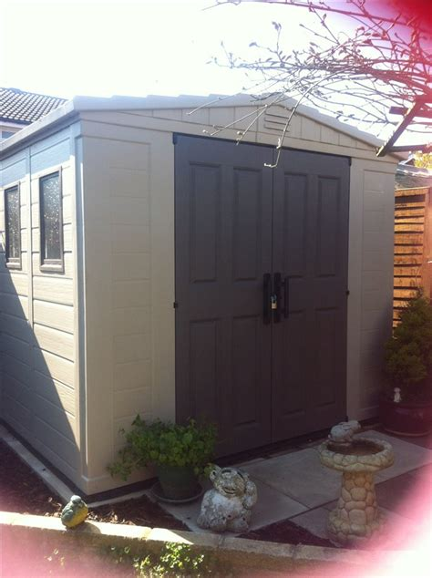 Keter Storage Shed 8x6 by Sallas Keter 8x6 Shed Review