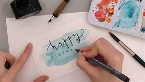 Geburtstagskarte Basteln Einfach : geburtstagskarte diy anleitung auf youtube ~ Orissabook.com Haus und Dekorationen