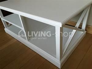 Table Basse Panier : tables basse blanc de style country meubles blancs j line living shop shop en ligne ~ Teatrodelosmanantiales.com Idées de Décoration