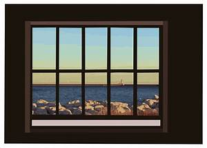Window view clipart - Clipground