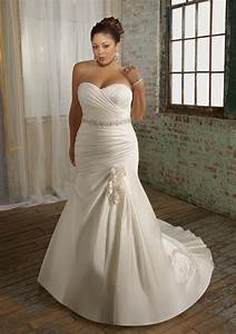 plus size wedding dresses dressed up girl With plus size mermaid wedding dresses