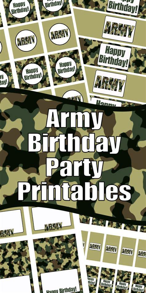 army birthday party printables woo jr kids activities