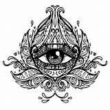 Sacred Geometry Tattoo Tattoos Geometric Mandala Temporary Fabulous Eye Accessory Throat Groovi Coloring Seeing Adult sketch template