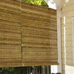 lewis hyman 010810 laguna bamboo roll up blind