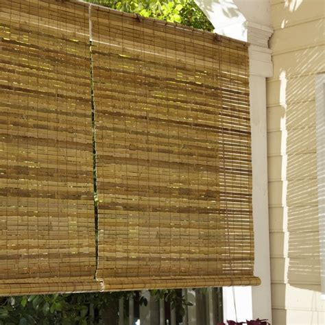lewis hyman 010810 laguna bamboo roll up blind