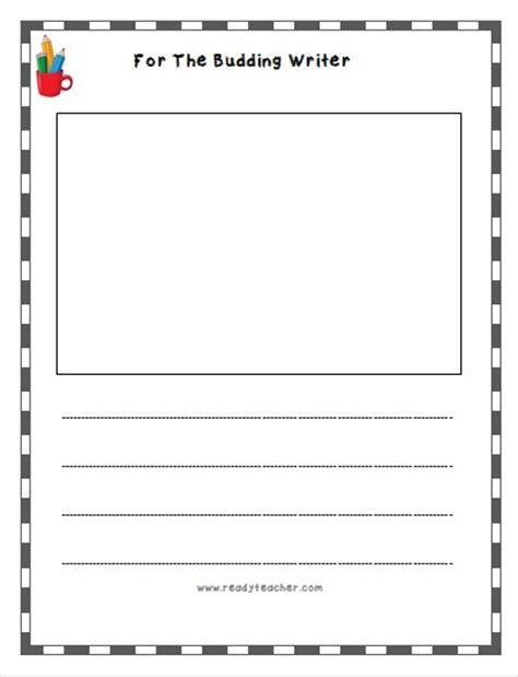 free writing template lined writing paper free lined writing templates readyteacher