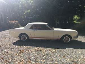 Exceptanly Clean 1965 Ford Mustang With 3 Speed Manual