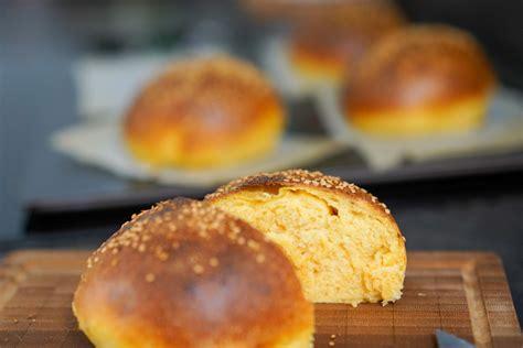 recette des pains  burger buns  la patate douce