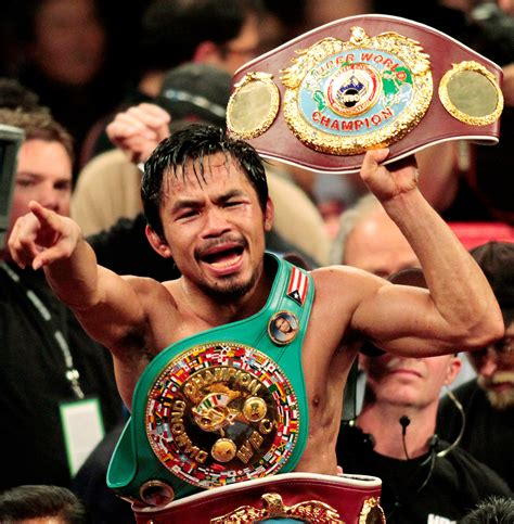 ranking manny pacquiaos  division titles