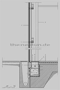 Schüco Pfosten Riegel : detail anschluss fassade an bodenplatte architecture detail pinterest ~ Frokenaadalensverden.com Haus und Dekorationen