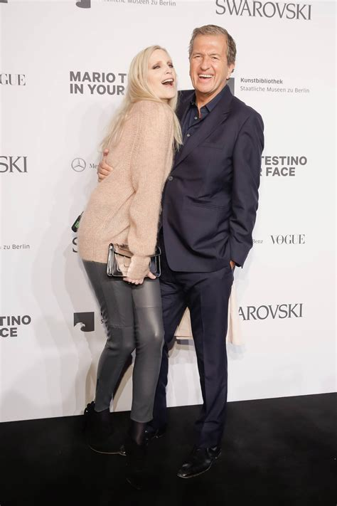 nadja auermann attends merceses benz fashion week leather celebrities