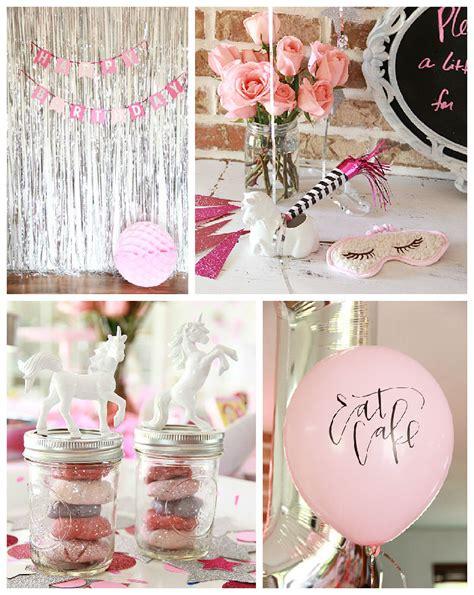 karas party ideas sparkle   unicorn themed birthday