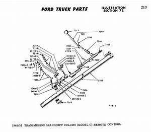1956 F100 Shifter Linkage Diagram