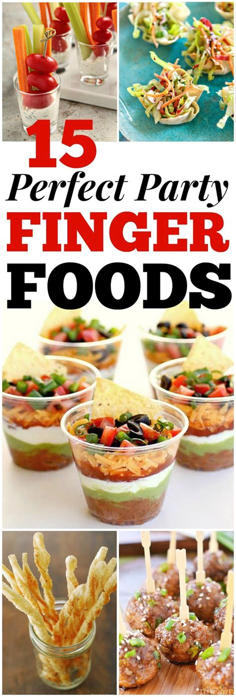 top   party finger foods ideas  pinterest