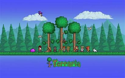 Terraria Backgrounds 8bit Pixelstalk Space