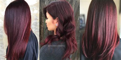 burgundy hair color    matrixcom