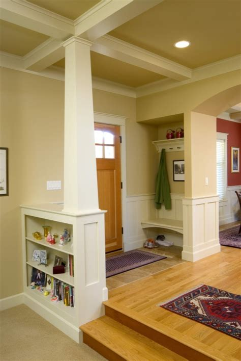 craftsman style homes interior interior elements of craftsman style house plans