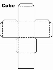 A Cube Template Cube Enchantedlearning Paper Cube Template ...