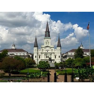 Jackson Square New Orleans Louisiana - NOLA